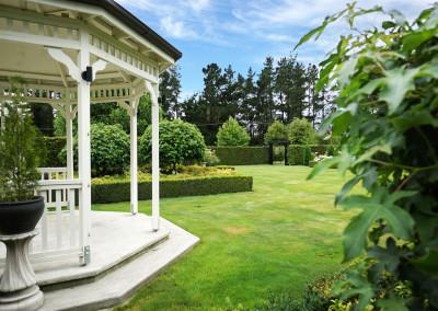 Lacebark garden