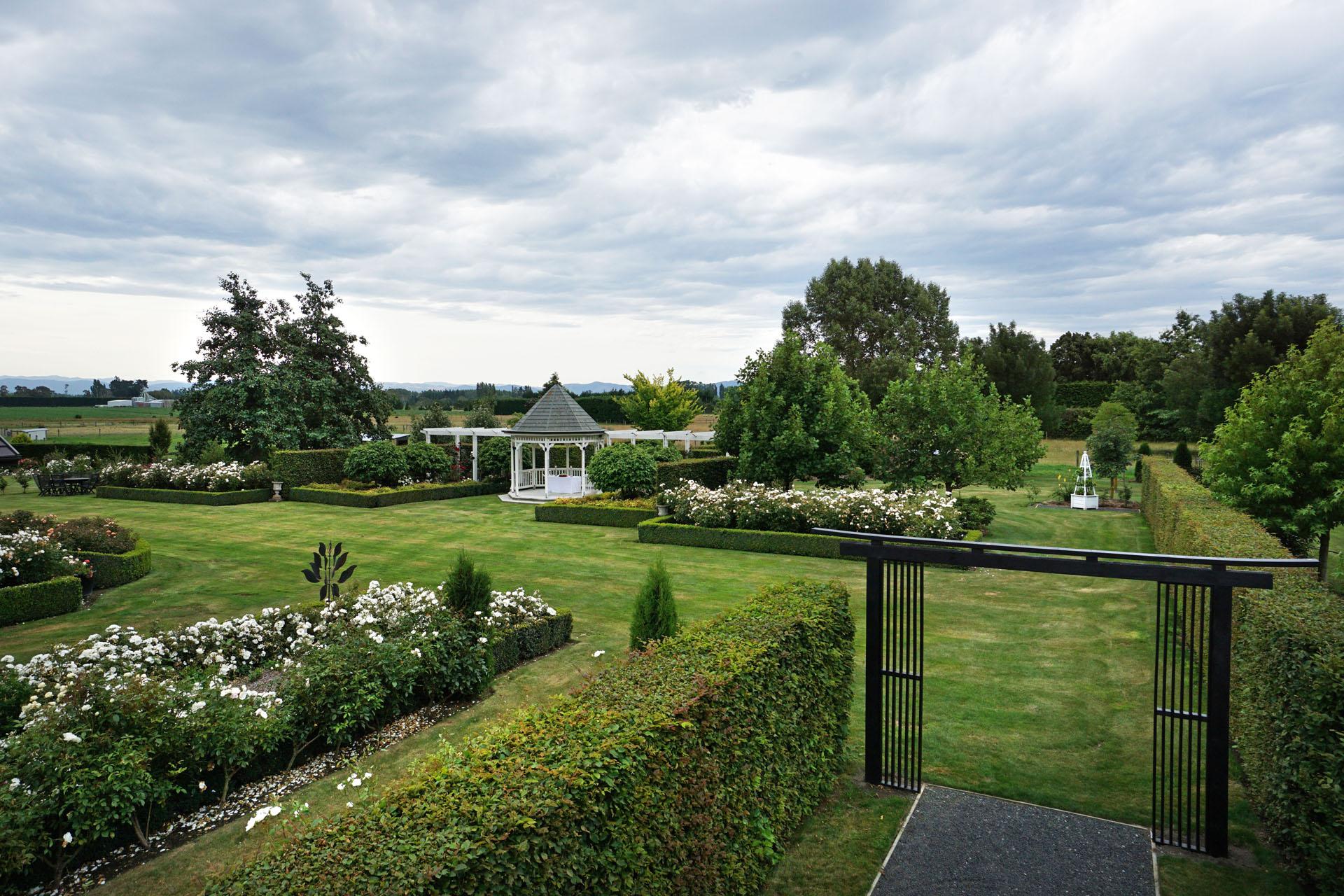Lacebark's beautiful gardens